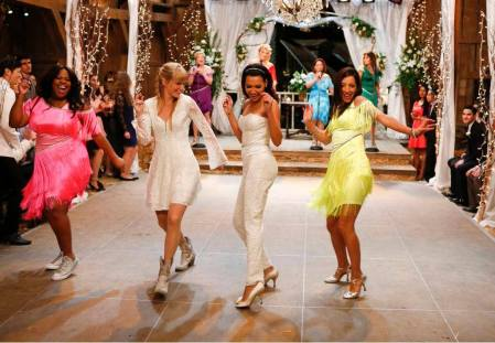 glee a wedding